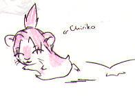 Chiriko the Hamster by sanosukerulez