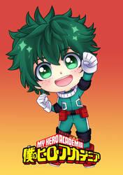 Deku - Boku no Hero by Cure-Rainbow