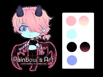Adop little demon [OPEN] by Cure-Rainbow