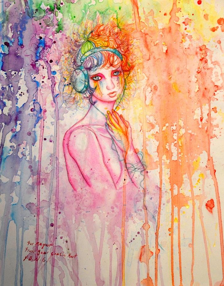 Rainbow Girl by JDNight
