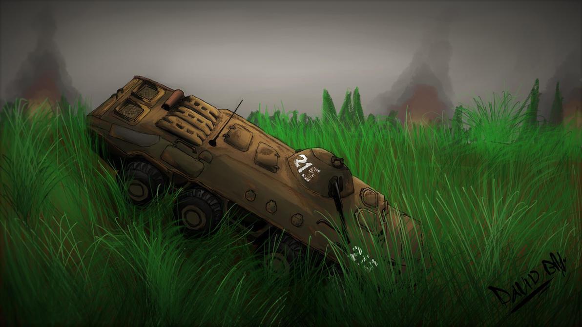 BTR 70 Chernobyl - S.T.A.L.K.E.R by DavidbZuter