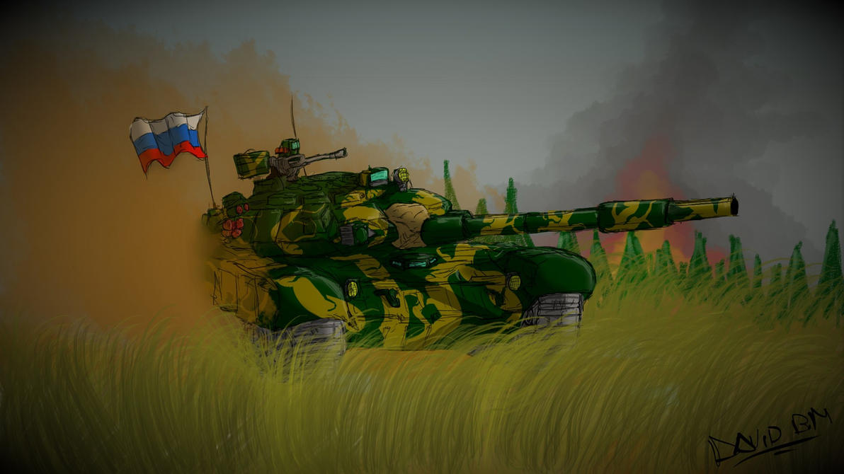 T90 - Russian VDV by DavidbZuter