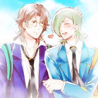 Senior and Junior by NAMEKAHO
