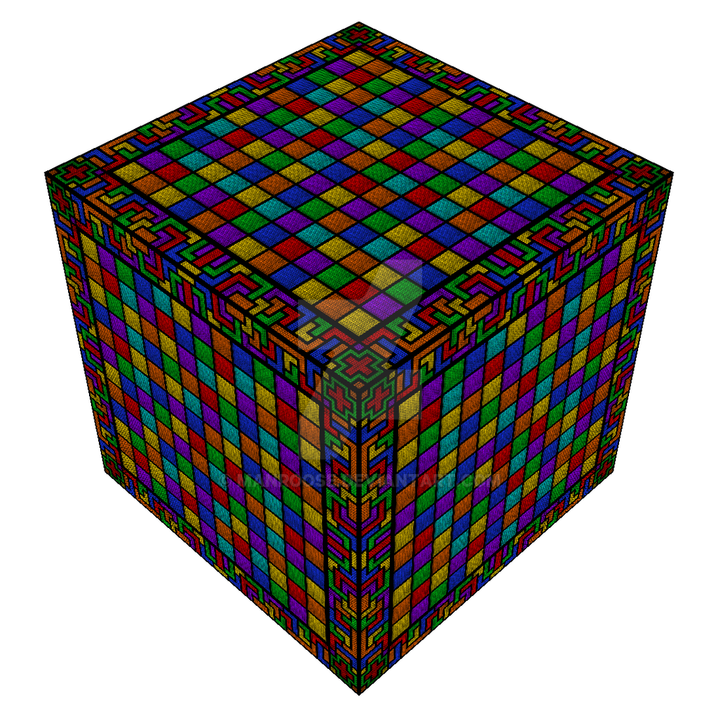 Tapesty cube by Manroose