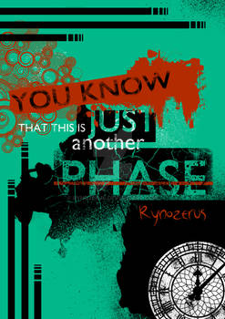 'Just a Phase' artbook Cover