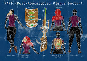 Post-Apocalyptic Plague Doctor Costume Design