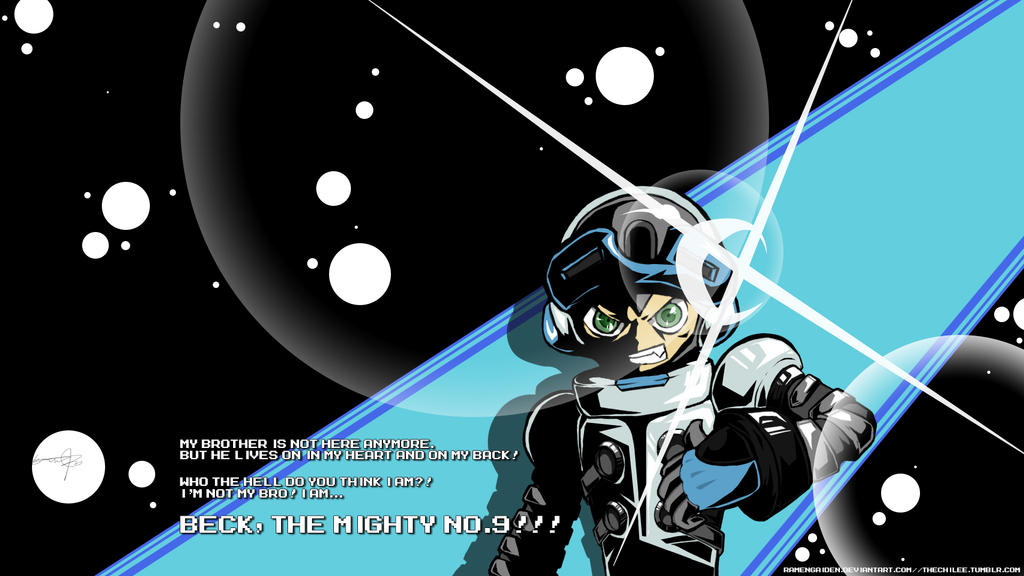 The Mighty No.9 Wallpaper by RamenGaiden