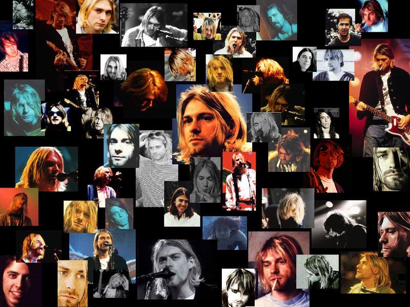 Nirvana Kurt Cobain Collage By SayuMisora