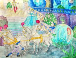 Cinderella's Getaway by ssdancer