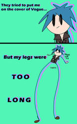 im legendary, all legs, no dairy