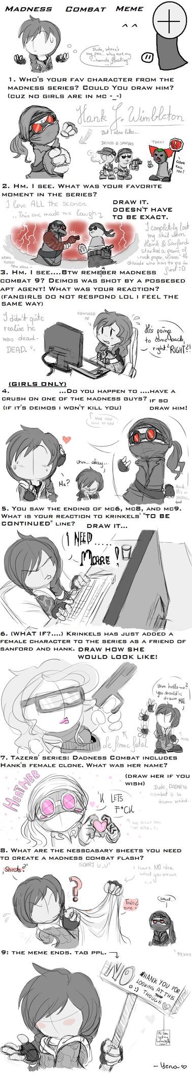 Madness Combat Meme by Nighttame