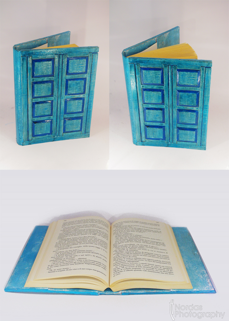 Doctor Who Tardis Bookholder by ~Nordas