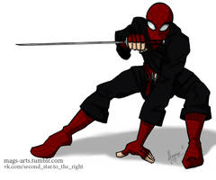 Spider Ninja by mags-arts