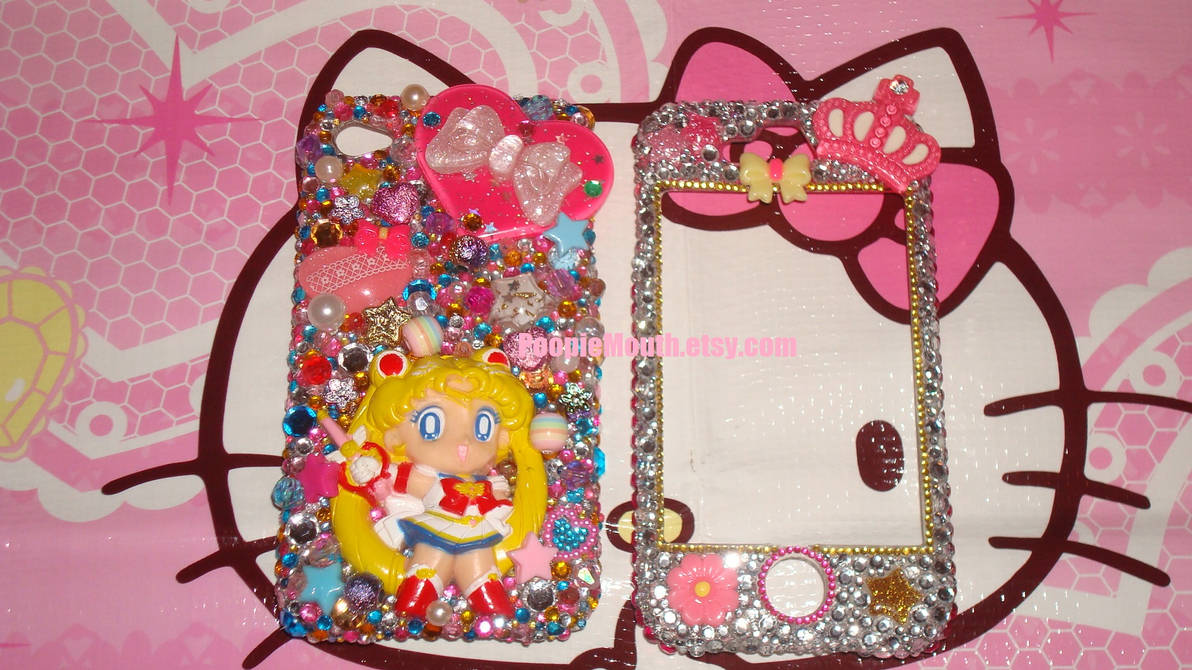 the best attitude ea2bd 28b0b Super Sailor Moon iPhone 4G Cell Phone Case by BD-SandM on DeviantArt