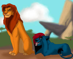 Oh Simba you so fine.. by DatBlueLion