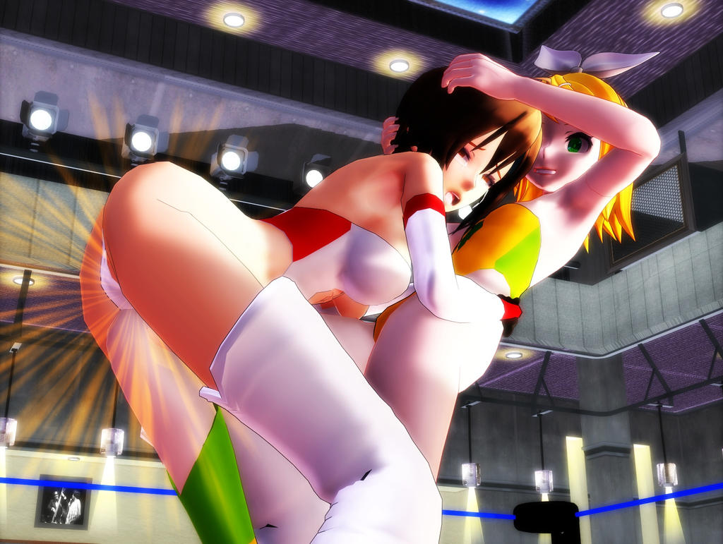 3d mmd rin rides reverse cowgirl glide 6