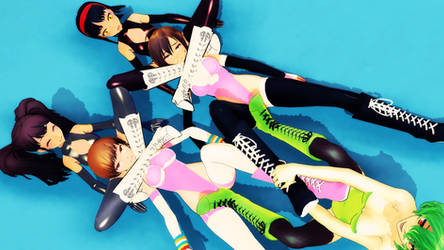 Dominate Meiko and Chie Satonaka team by tousato