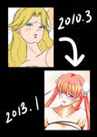 Daikokusama's Progress from 2010 to 2013