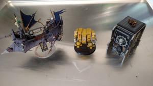 Oldies - Shrine Dreadnought and Dark Eldar