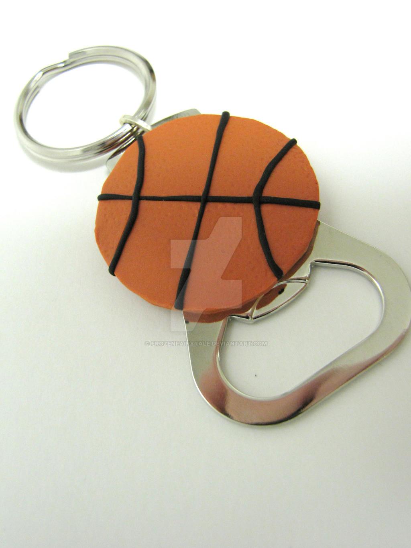 basketball bottle opener keychain gift by frozenfairytale on deviantart. Black Bedroom Furniture Sets. Home Design Ideas