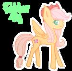 |Pony Fusion| Fluttershy + Applejack