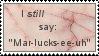 Mar-lucks-ee-uh stamp by QueenGalux