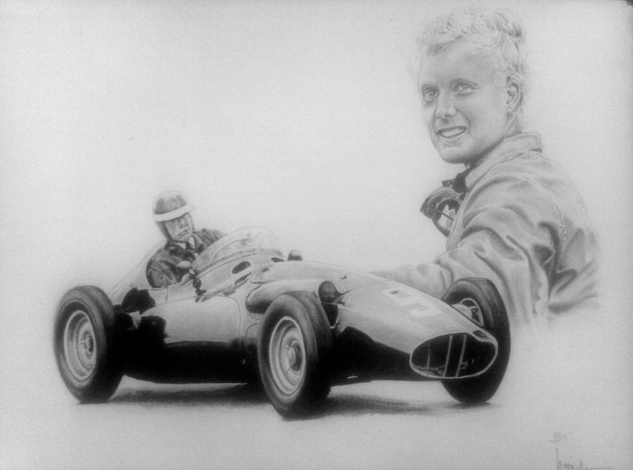Mike Hawthorn by Galbatore