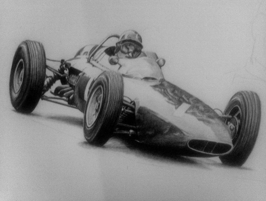 Graham Hill by Galbatore