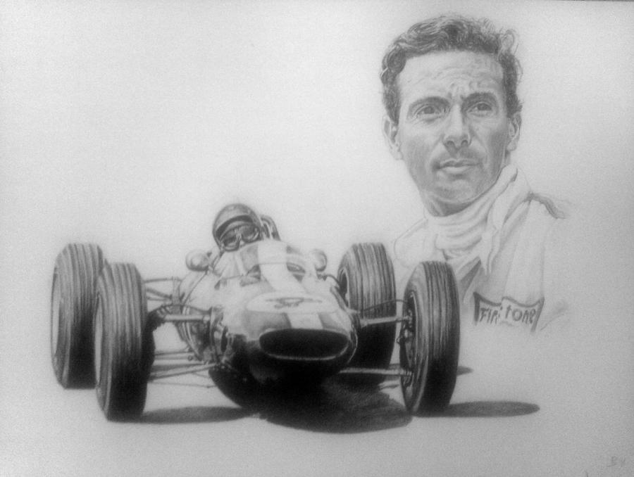 Jim Clark by Galbatore