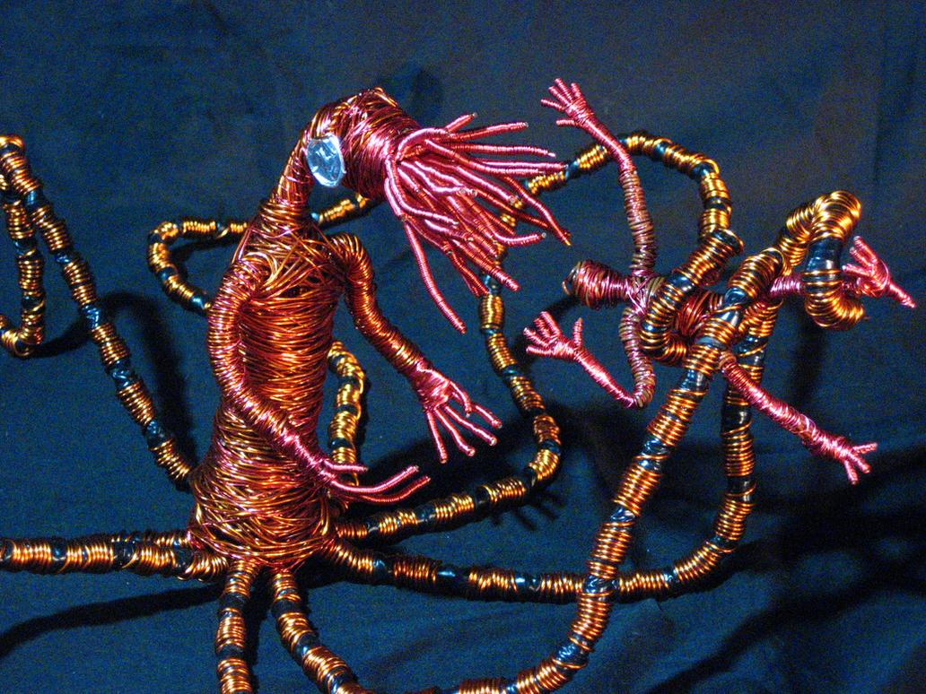 tentacle monsterbunknubber on deviantart