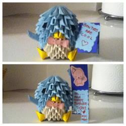 ancient castle - modular origami by Riddler111 on DeviantArt   250x250