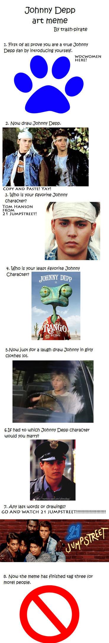 Johnny Depp Meme by wdcwomen on DeviantArt