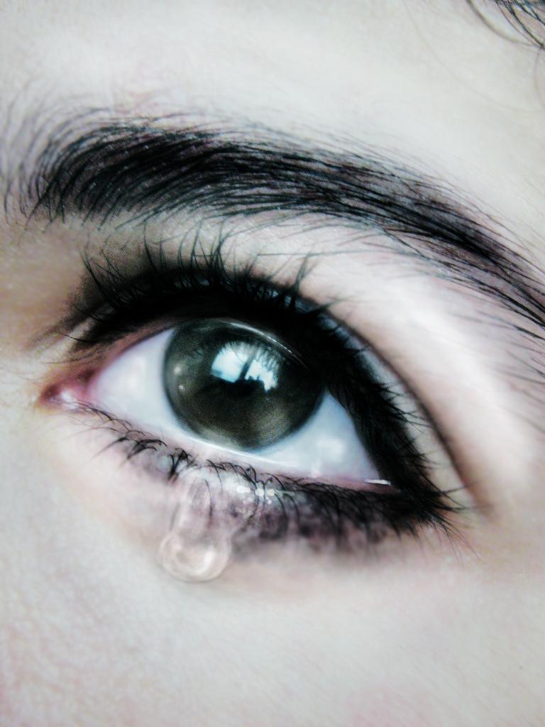 eye cry by mirunesku23 on deviantart