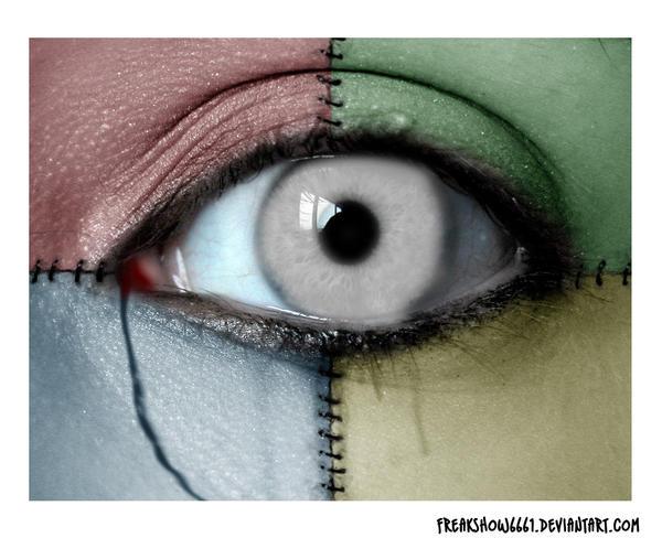 Zombie eye by freakshow6661