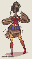 Wonder Woman Ostrich TF