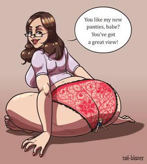 Giantess' New Panties