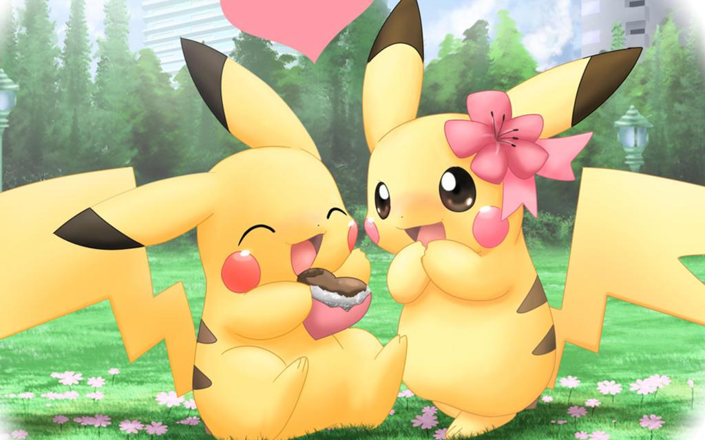 Chibi Pikachu by Kirara-CecilVenes on DeviantArt