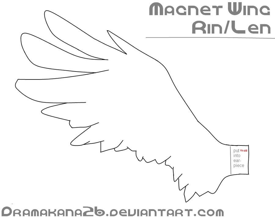 Magnet Angel Wing-Patten by DramaKana26