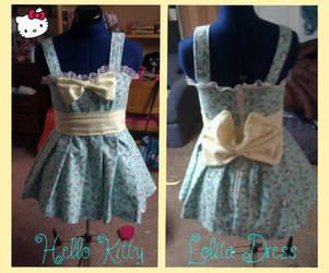 Hello Kitty Lolita Dress by DramaKana26