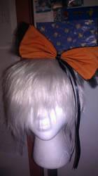Halloween Bow by DramaKana26