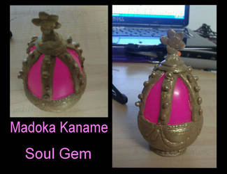 Madoka Kaname-Soul Gem by DramaKana26