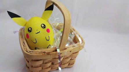 Pikachu Easter Egg by DramaKana26