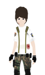 Resident Evil OC: Johnathan Kennedy-Injured (2009) by Setchman911