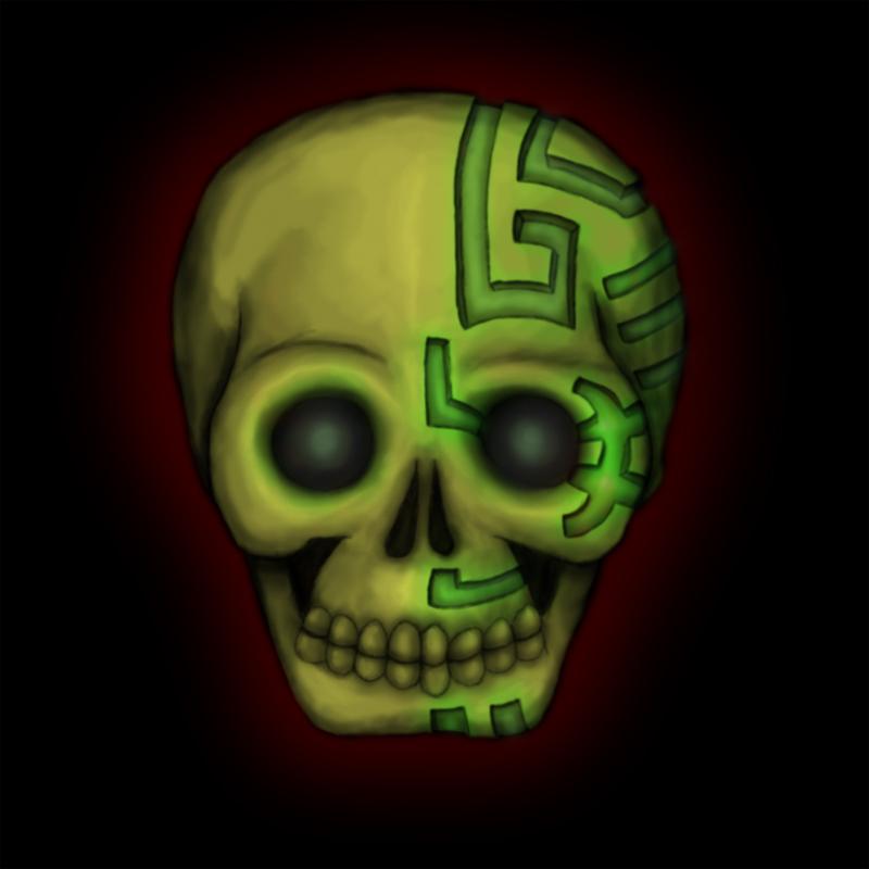 Voodoo Skull Art Voodoo glow skull by matt-cattVoodoo Skull Drawing