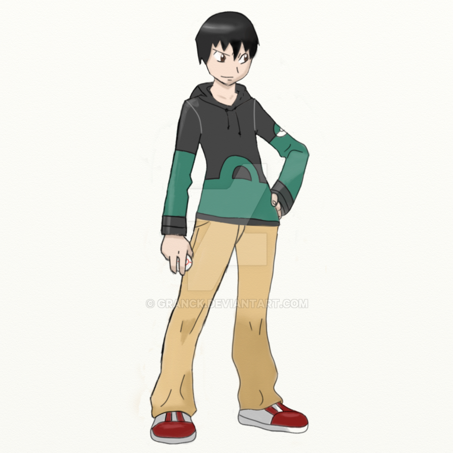 OC, Pokemon Trainer by Granck