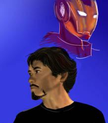 Tony Stark IS Iron Man by Aftershocker