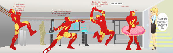 Dance of the Iron Man by Aftershocker