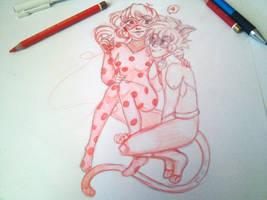 wip ladybug by Miiyorin