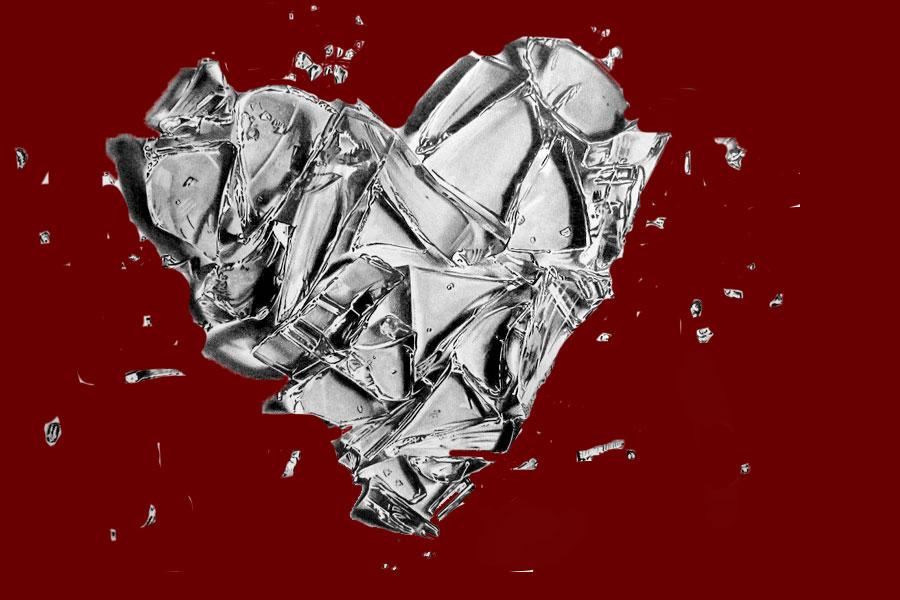 Shattered Glass Heart by PiggiLovex3 on DeviantArt