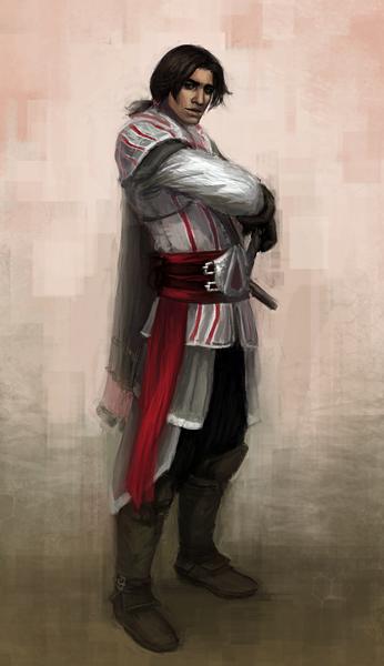 Ezio: standing by CavalierediSpade
